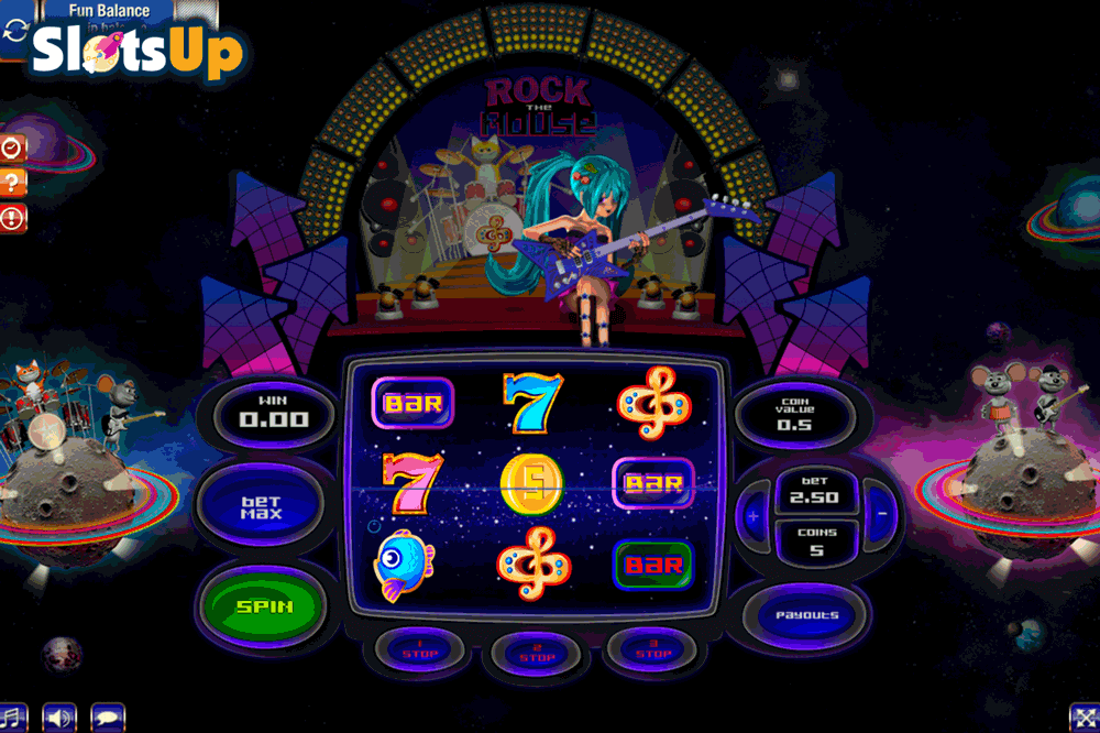 Rock The Mouse Slot Machine Online ᐈ GamesOS™ Casino Slots