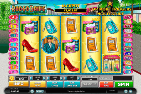 RODEO DRIVE HABANERO SLOT MACHINE
