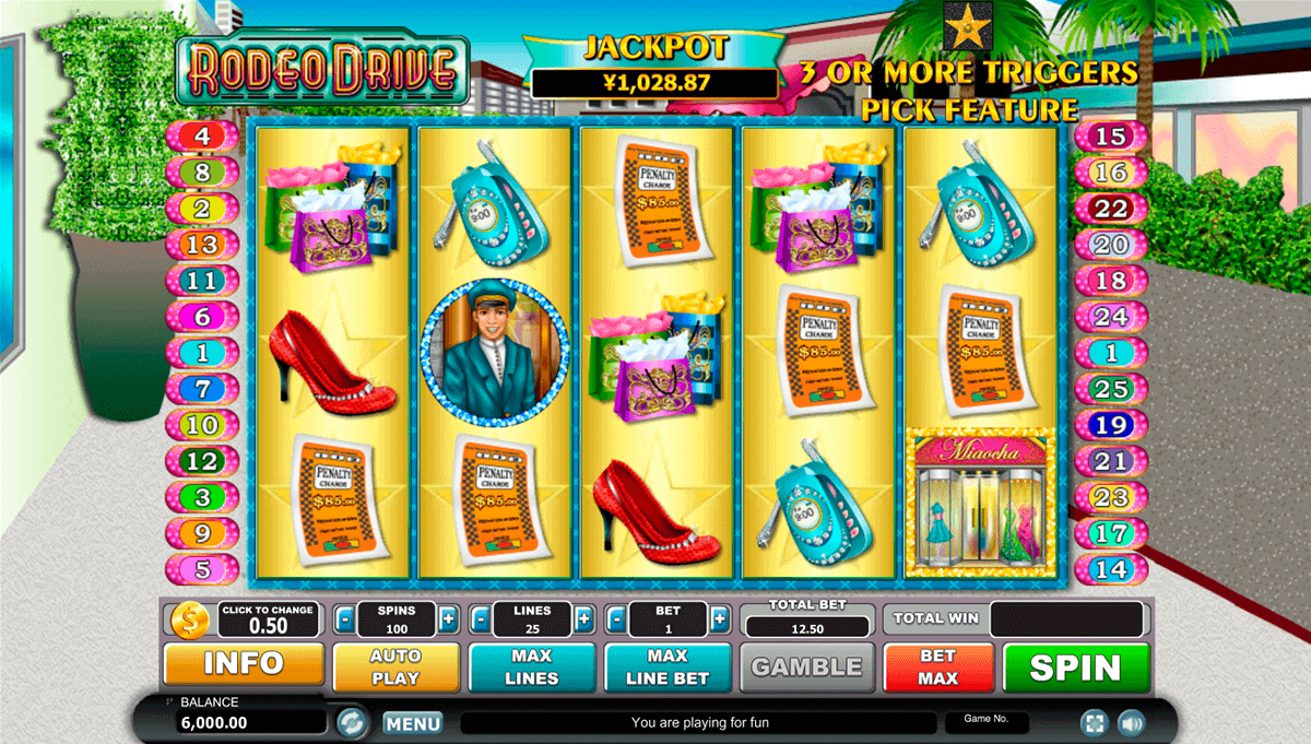 Rodeo Drive Slot - Play Free Casino Slot Machine Games