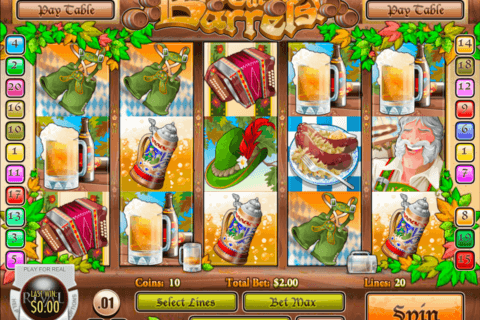 roll out the barrels rival casino slots 480x320