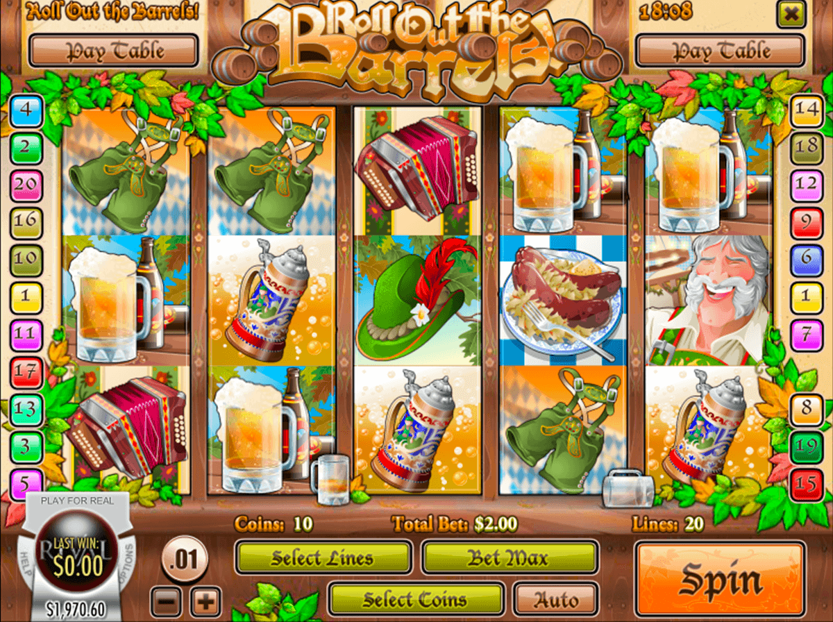 Roll out the Barrels Slot Machine Online ᐈ Rival™ Casino Slots