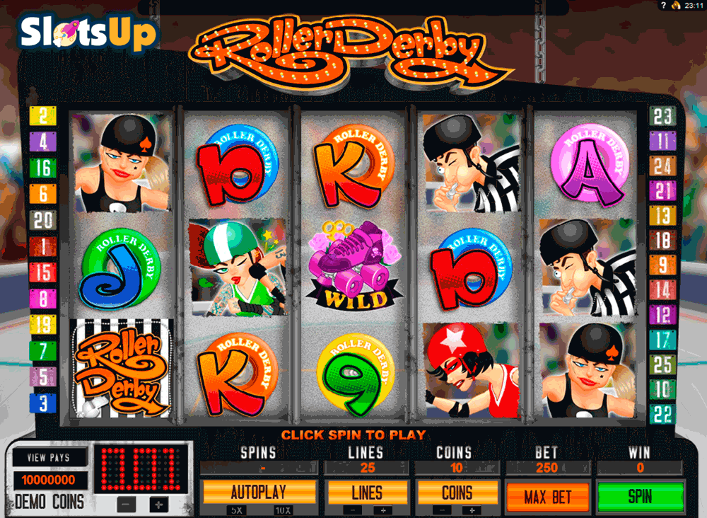 Roller Derby Slot Machine Online ᐈ Genesis Gaming™ Casino Slots