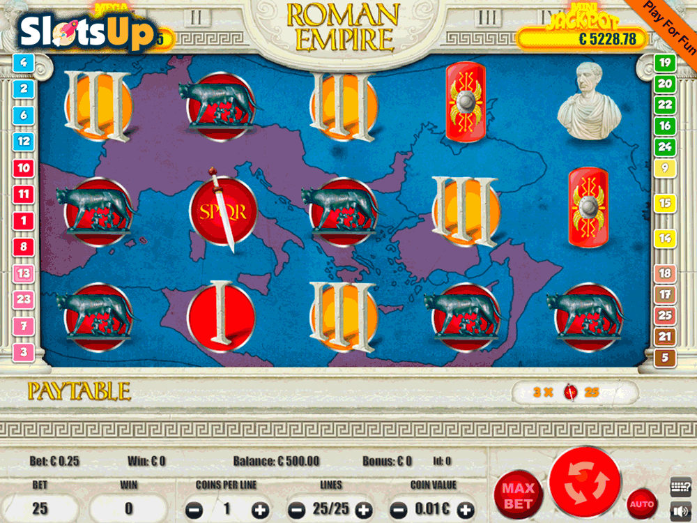 Roman Empire™ Slot Machine Game to Play Free in Spielos Online Casinos