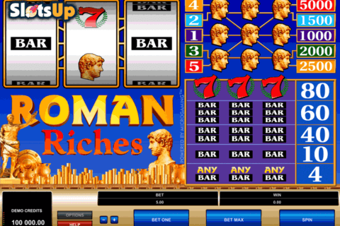 ROMAN RICHES MICROGAMING CASINO SLOTS