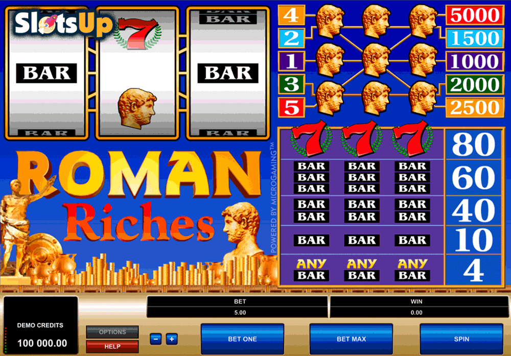 Roman Riches™ Slot Machine Game to Play Free in Microgamings Online Casinos