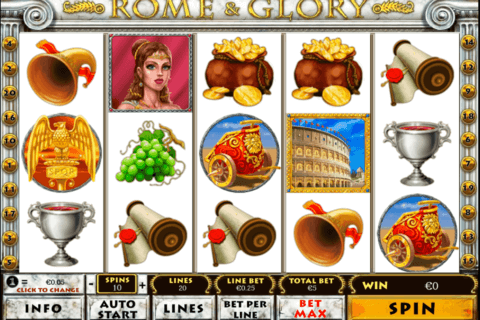 ROME AND GLORY PLAYTECH