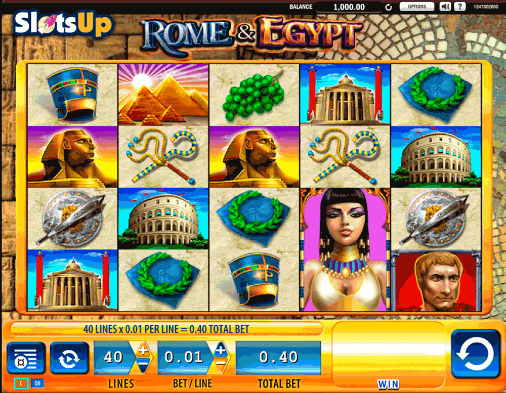 Rome & Egypt Slot Machine - Play the Online Version for Free