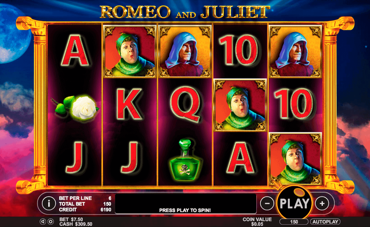 Romeo and Juliet™ Slot Machine Game to Play Free in Pragmatic Plays Online Casinos
