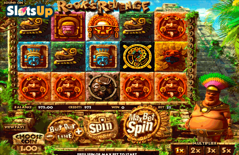 Rooks Revenge™ Slot Machine Game to Play Free in BetSofts Online Casinos