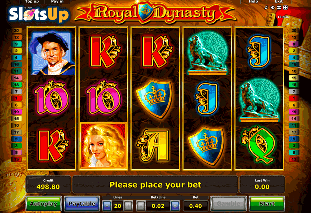 ROYAL DYNASTY NOVOMATIC CASINO SLOTS