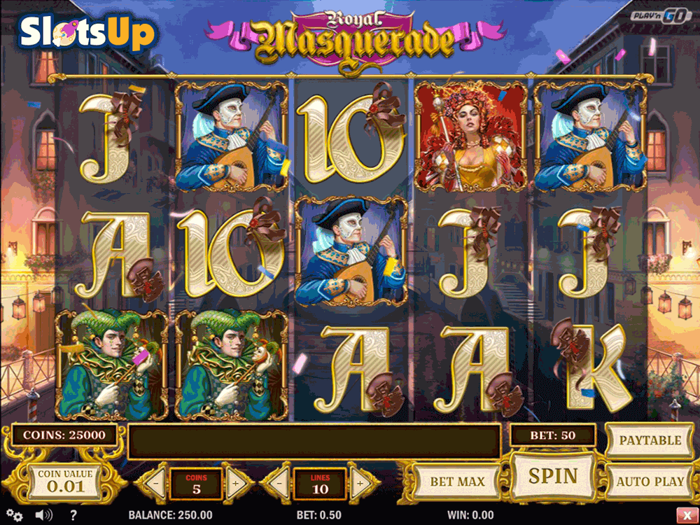 ROYAL MASQUERADE PLAYN GO CASINO SLOTS