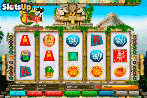 royal maya b3w casino slots 480x320
