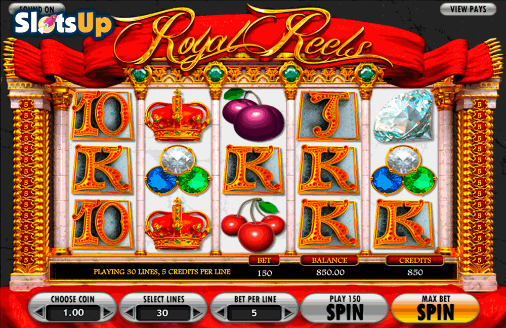 royal reels betsoft casino slots