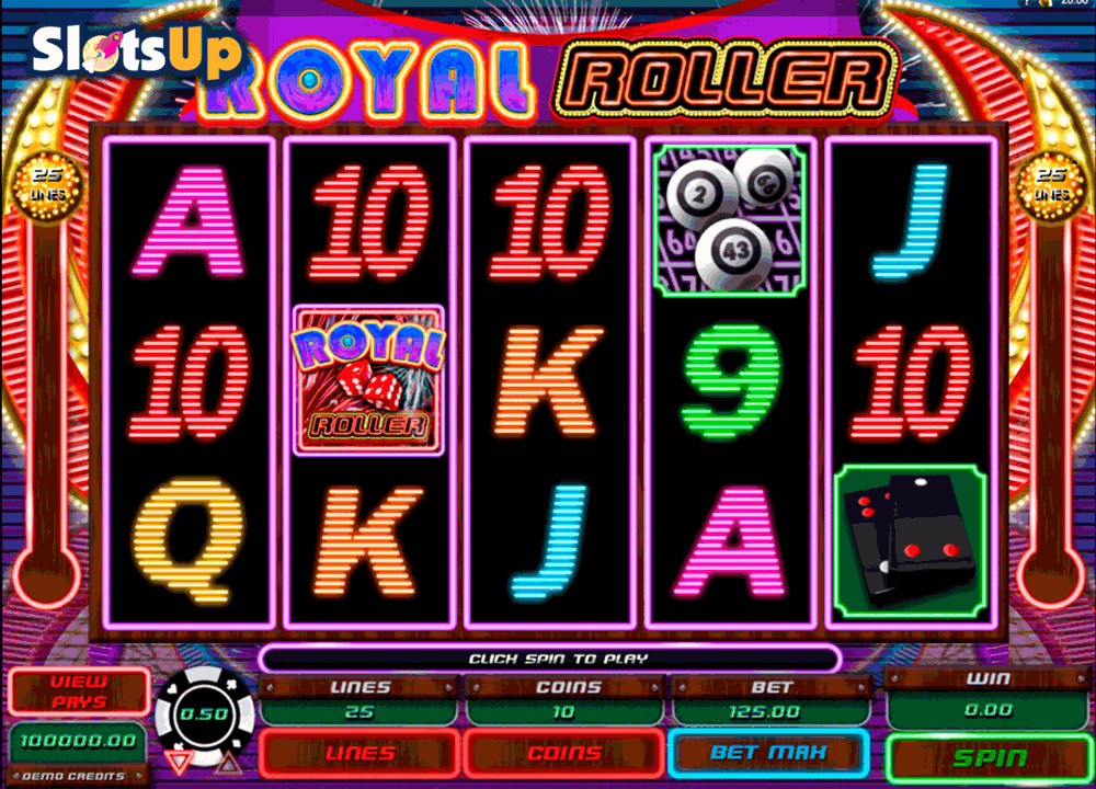 ROYAL ROLLER MICROGAMING CASINO SLOTS