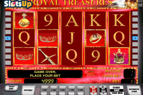 ROYAL TREASURES NOVOMATIC CASINO SLOTS