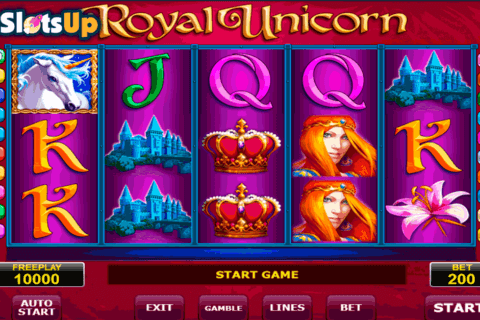 royal unicorn amatic casino slots