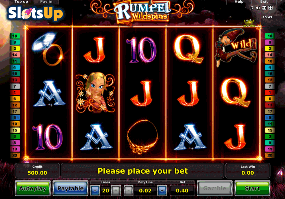 Rumpel Wildspins™ Slot Machine Game to Play Free in Novomatics Online Casinos