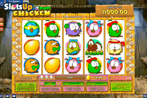 RUN CHICKEN RUN GAMESOS CASINO SLOTS