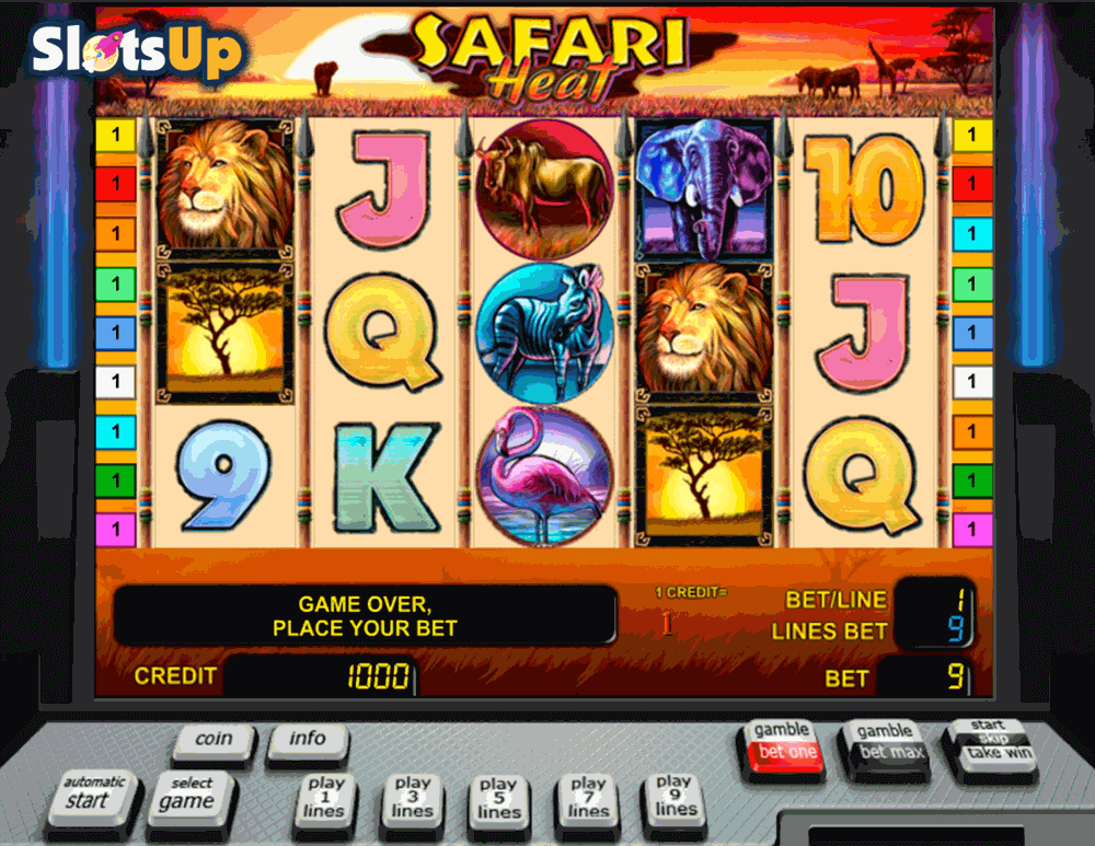 SAFARI HEAT NOVOMATIC CASINO SLOTS
