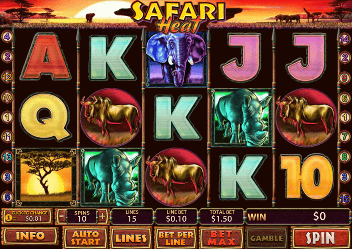 Play Safari Heat Slots Online