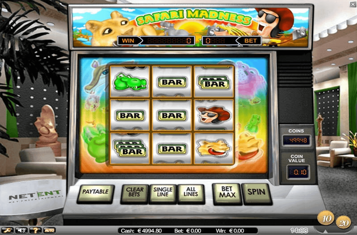 SAFARI MADNESS NETENT CASINO SLOTS