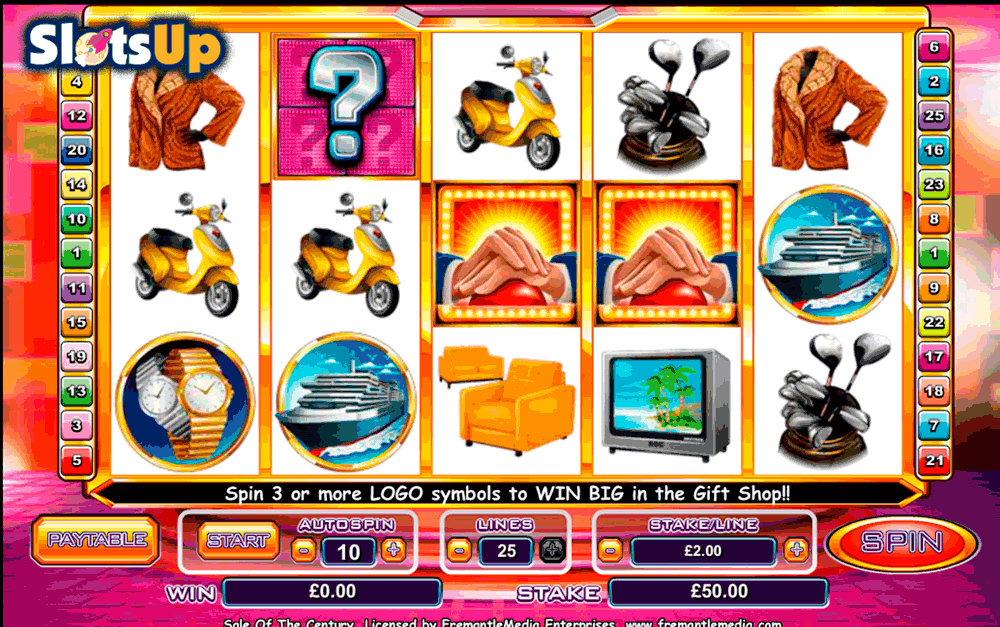 Sale Of The Century™ Slot Machine Game to Play Free in OpenBets Online Casinos