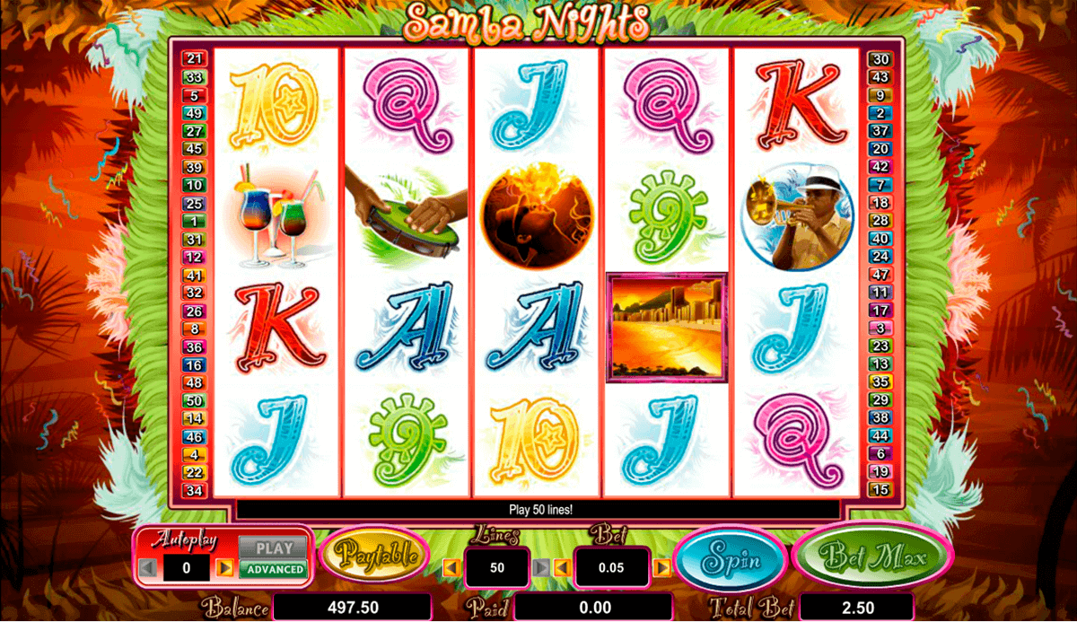SAMBA NIGHTS AMAYA CASINO SLOTS