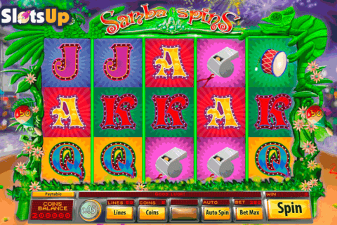 SAMBA SPINS SAUCIFY CASINO SLOTS