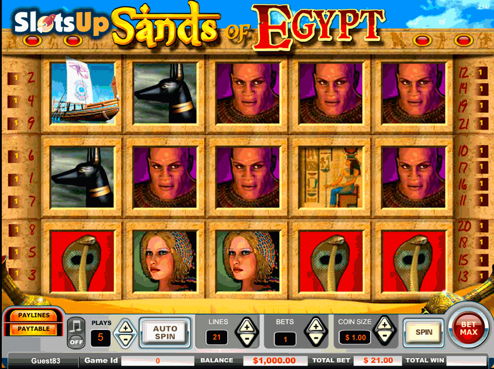 SANDS OF EGYPT VISTA GAMING CASINO SLOTS