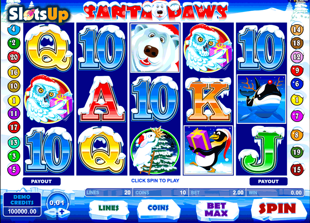 Santa Paws Slot Machine - Play Online for Free or Real Money