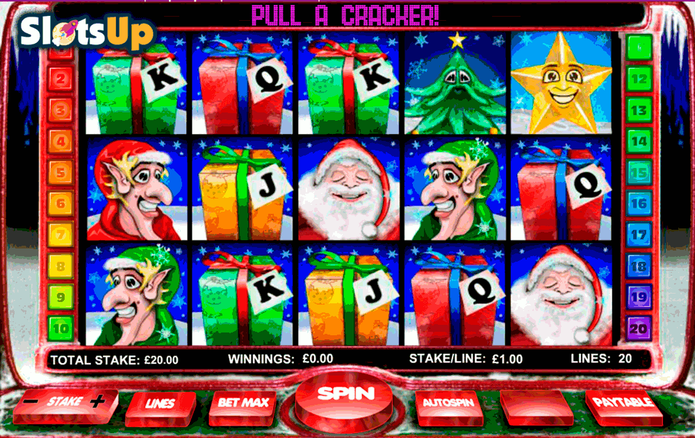 Santas Slotto Grotto Slots - Play Online for Free Now