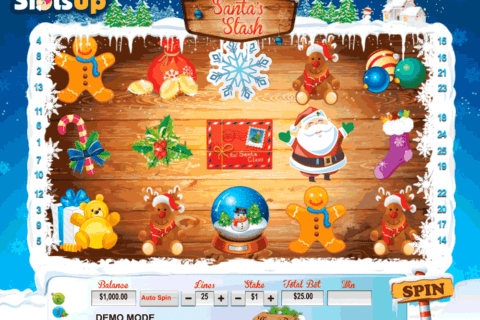 SANTAS STASH DAUB GAMES CASINO SLOTS