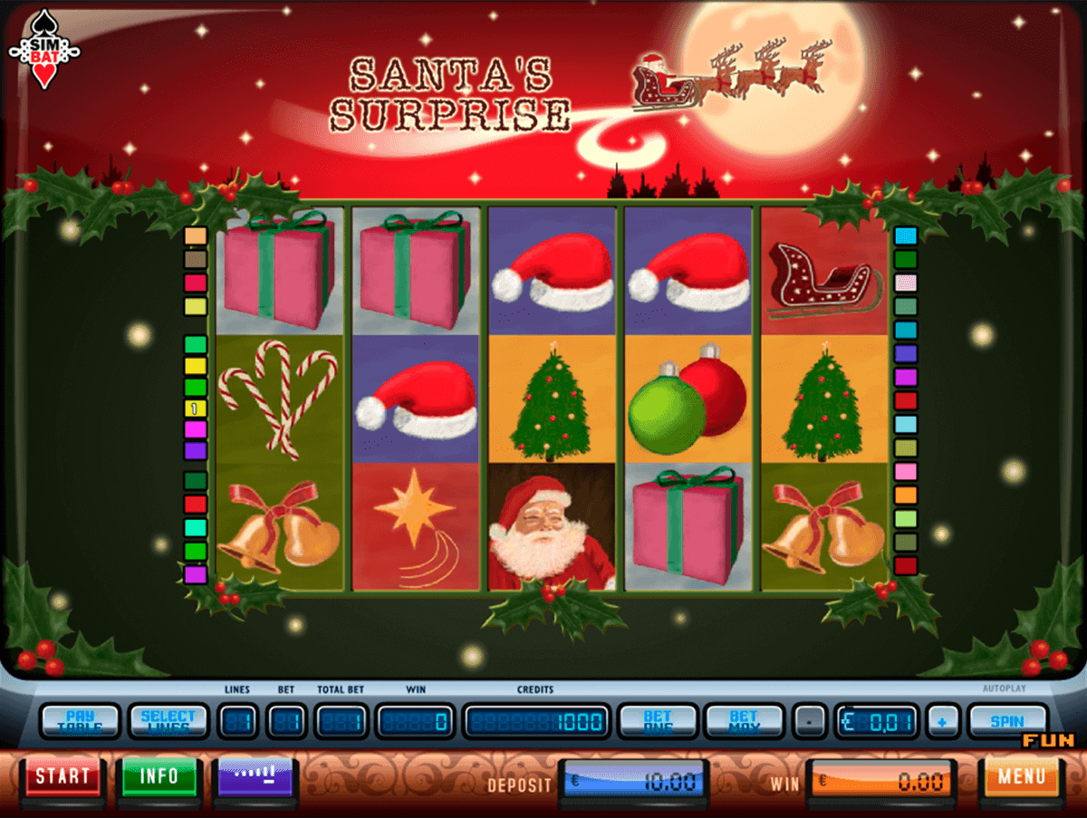 Santa Surprise™ Slot Machine Game to Play Free in Playtechs Online Casinos