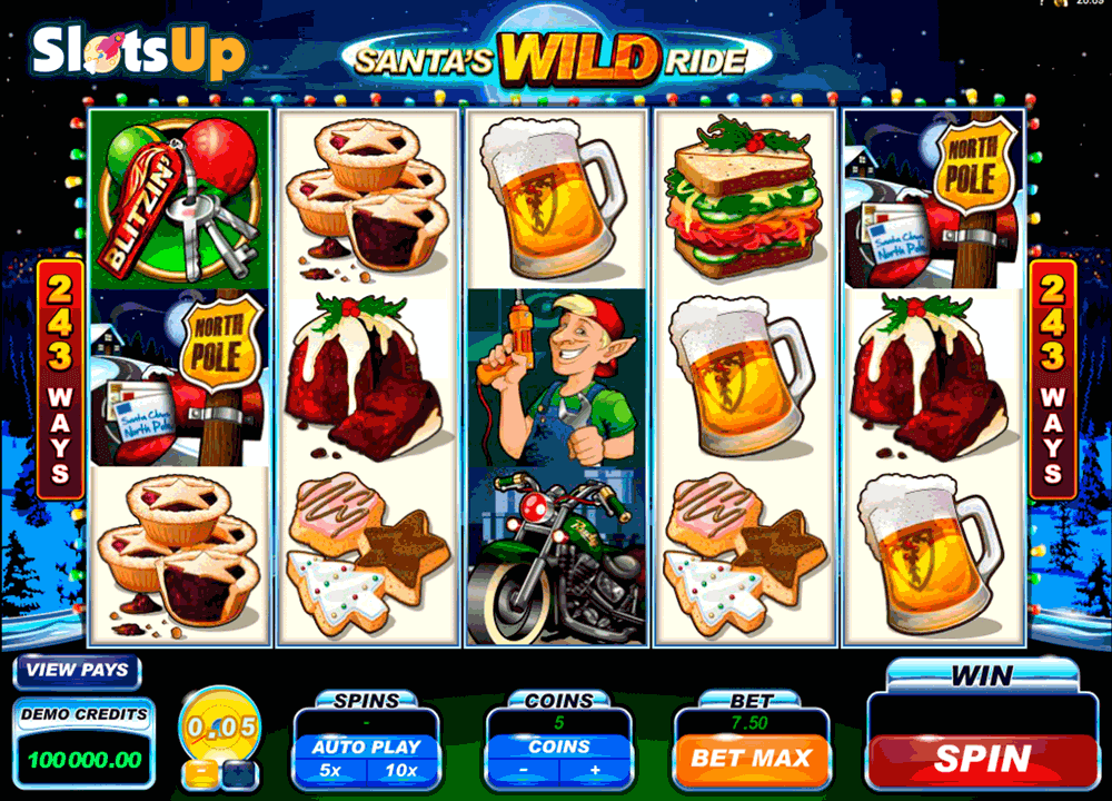 Santas Spins Slot Machine Online ᐈ Cayetano Gaming™ Casino Slots