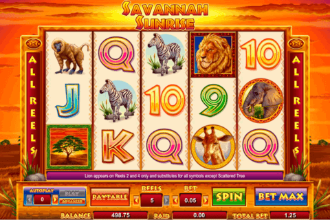 SAVANNAH SUNRISE AMAYA CASINO SLOTS