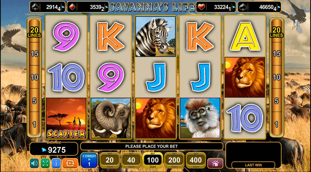 Play Savannas Life Slot Game Online | OVO Casino