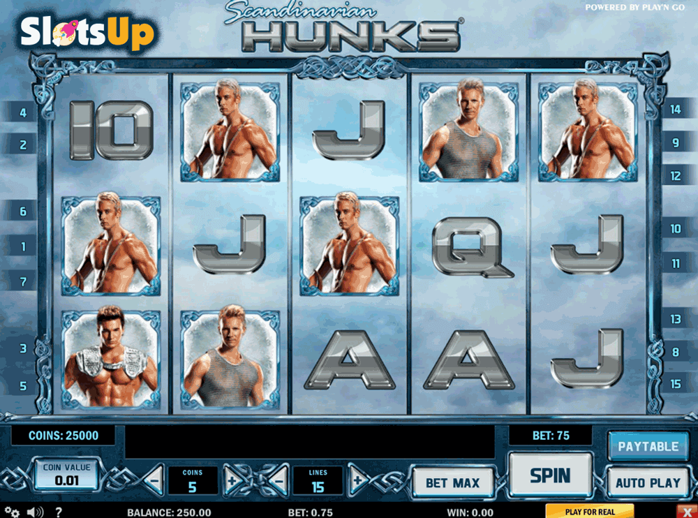 Scandinavian Hunks Slot Machine Online ᐈ Playn Go™ Casino Slots
