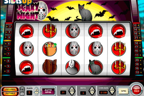 SCARY NIGHT VISTA GAMING CASINO SLOTS