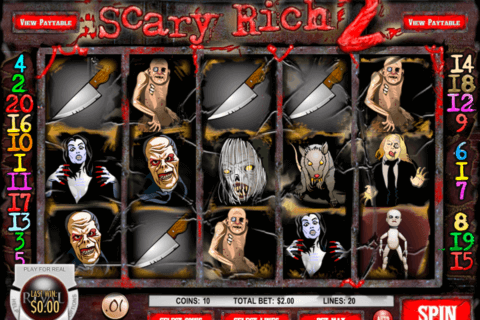 scary rich 2 rival casino slots