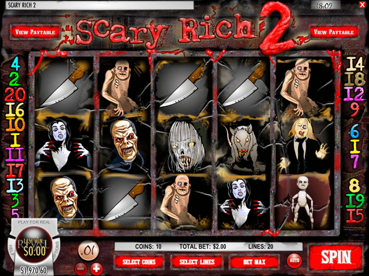 Scary Rich 3 Slot Machine Online ᐈ Rival™ Casino Slots