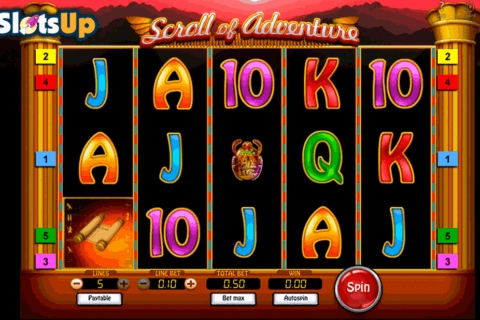 scroll of adventure softswiss casino slots 480x320