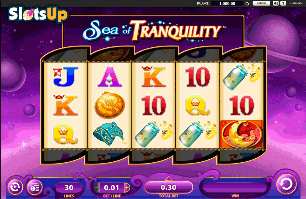 Sea of Tranquility Slot Machine - Play it Online for Free