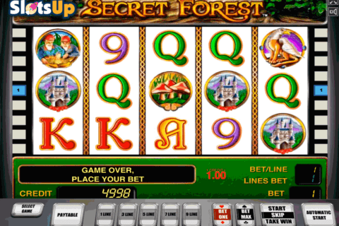 secret forest novomatic casino slots 480x320