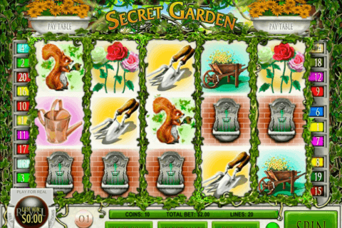 SECRET GARDEN RIVAL CASINO SLOTS