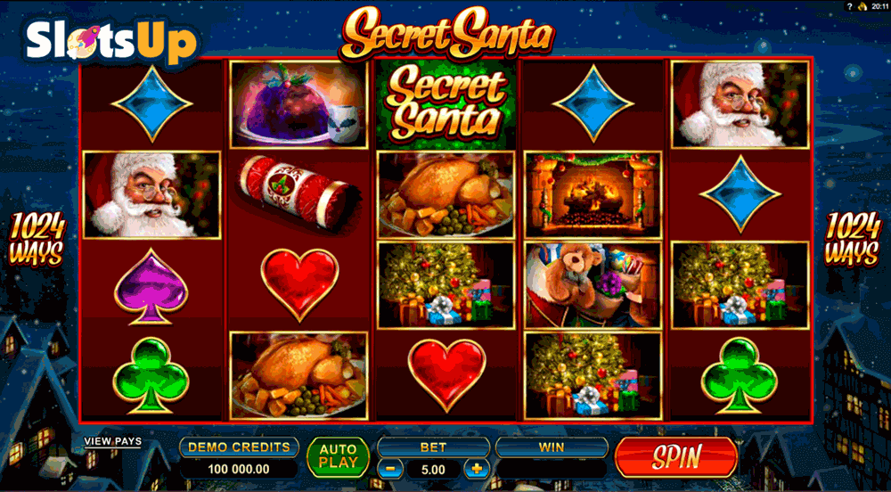 SECRET SANTA MICROGAMING CASINO SLOTS