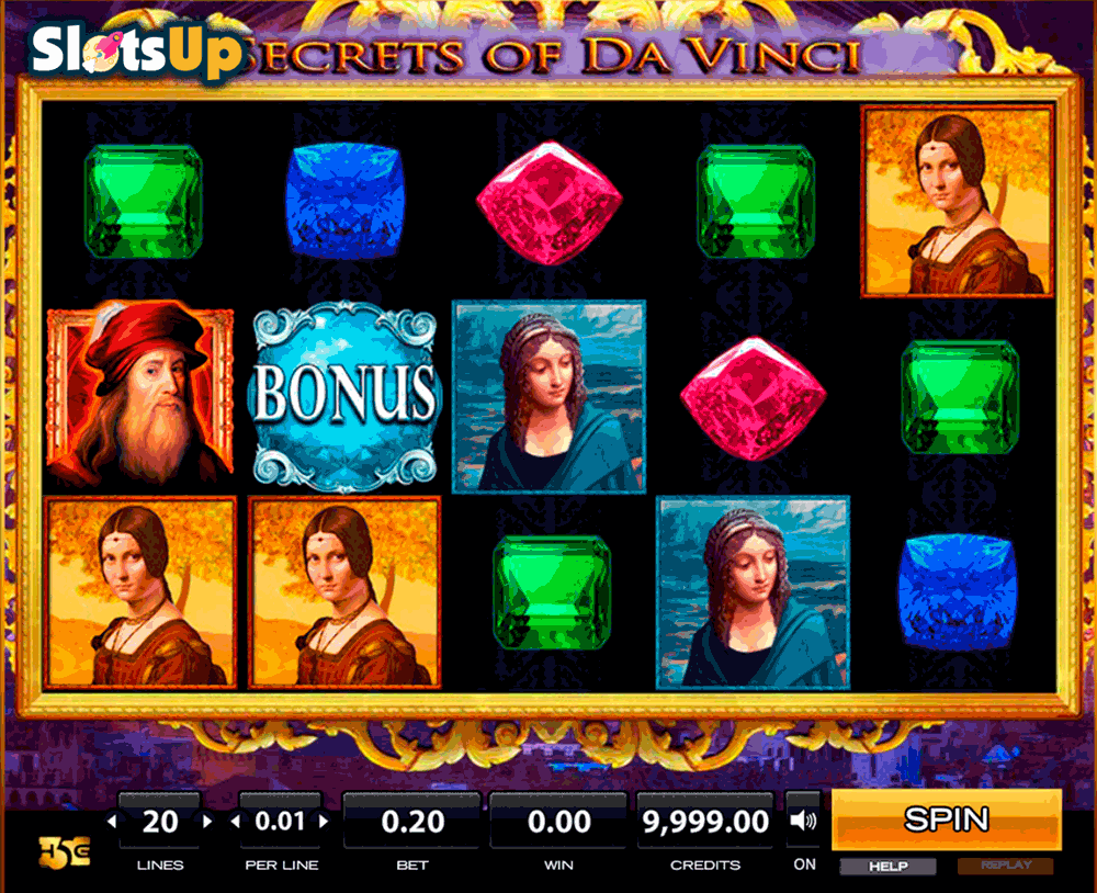 Secrets Of Da Vinci™ Slot Machine Game to Play Free in High 5 Gamess Online Casinos