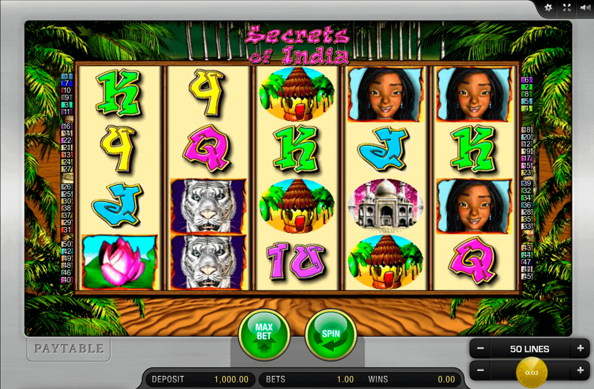 Secrets of India Slot - Play Real Casino Slots Online