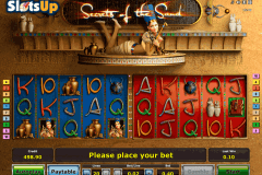 SECRETS OF THE SAND NOVOMATIC CASINO SLOTS