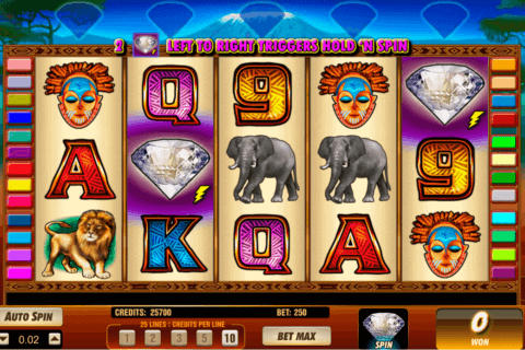 SERENGETI DIAMONDS AMAYA CASINO SLOTS