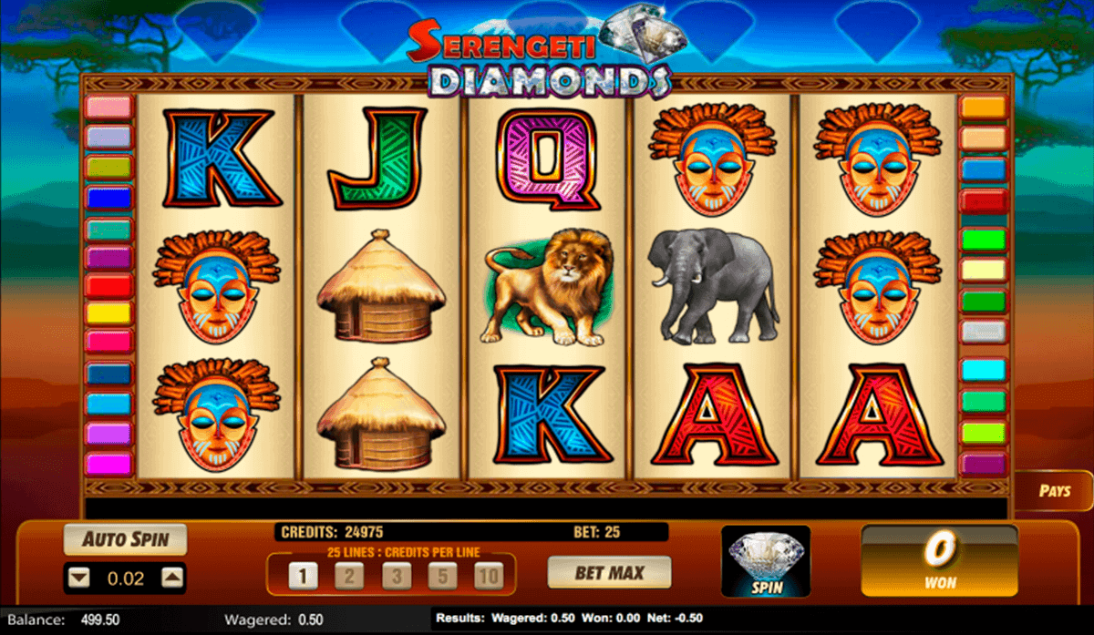 Serengeti Diamonds Slot Machine Online ᐈ Lightning Box™ Casino Slots
